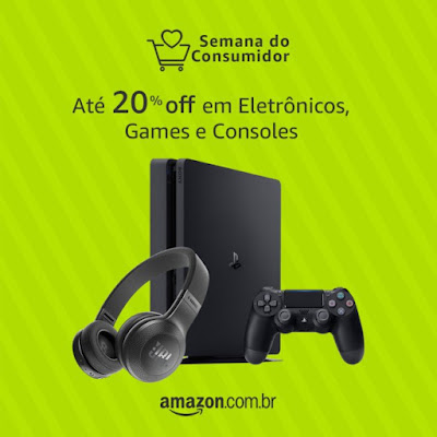 Site da Amazon Dia do Consumidor