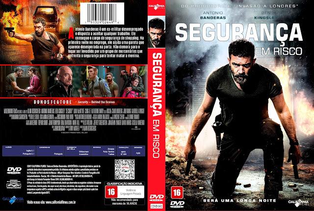 Capa DVD Segurança em Risco [Custom]