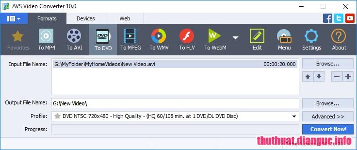 Download AVS Video Converter 11.0.1.632 Full – Phần mềm chuyển mọi định dạng video audio