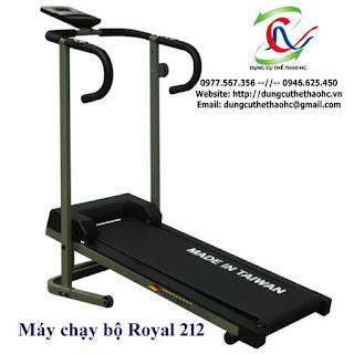 Máy chạy bộ cơ 1 chức năng điều chỉnh ROYAL 212