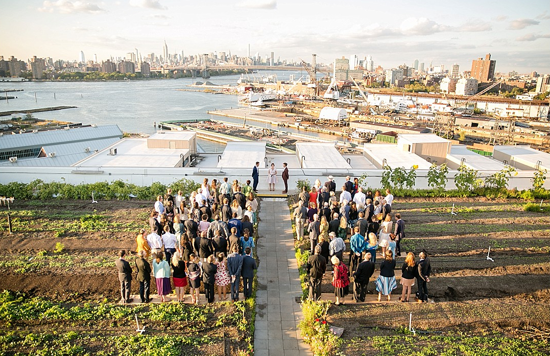Brooklyn Grange Wedding Venues