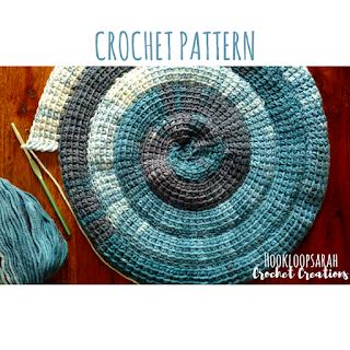 tunisian crochet spiral