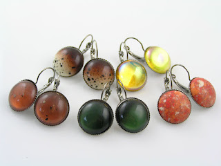 Cabochon Earrings for Sale