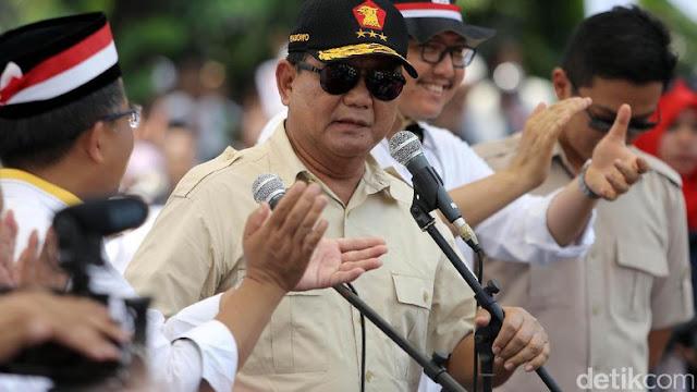 FPI Minta Perang dan Senjata, Prabowo: Kita Harus Tenang, Pakai Otak, Jangan Cepat Bicara Senjata