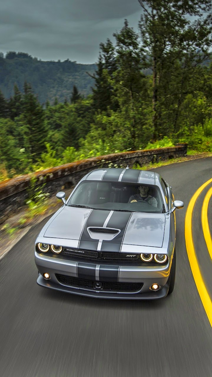New Android Wallpaper Dodge Challenger Srt Hellcat First Drive