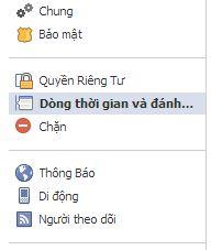 Dòng thời gian và đánh dấu - timeline and tag on Facebook