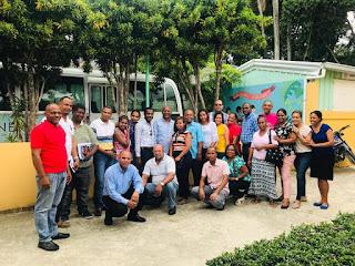 Elvin Sánchez imparte taller acerca de la Ley 176-07 en San Cristóbal
