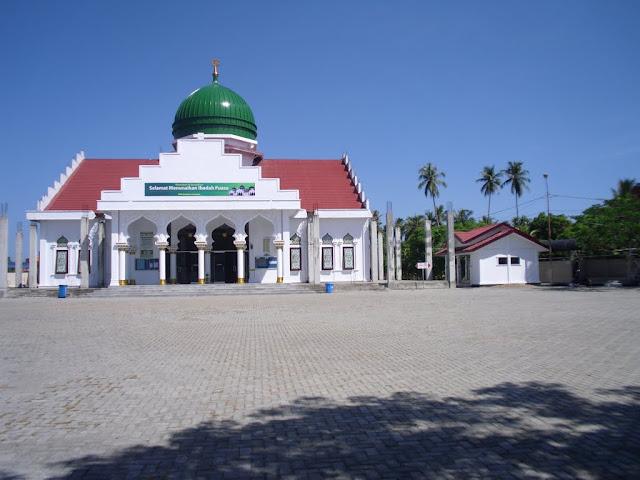 Inilah Masjid Paling Bersih di Kota Banda Aceh