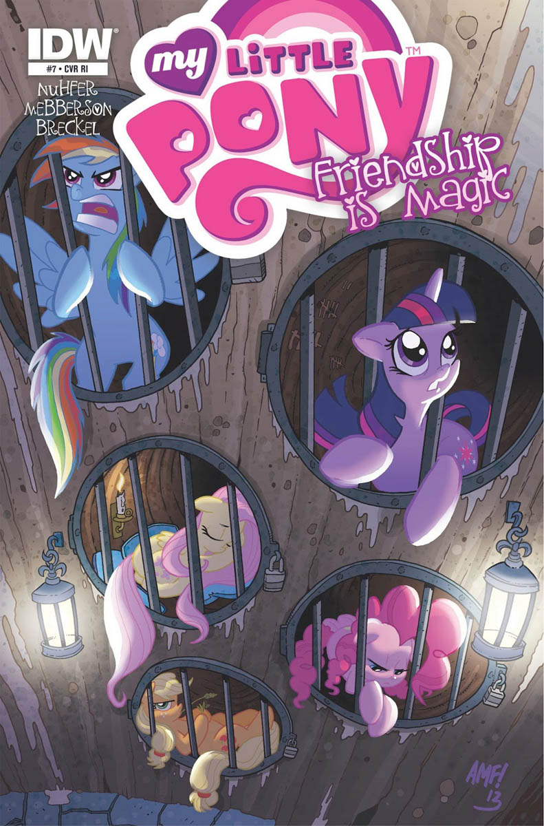 MLP Friendship Is Magic Issue & 7 Comic Covers | MLP Merch