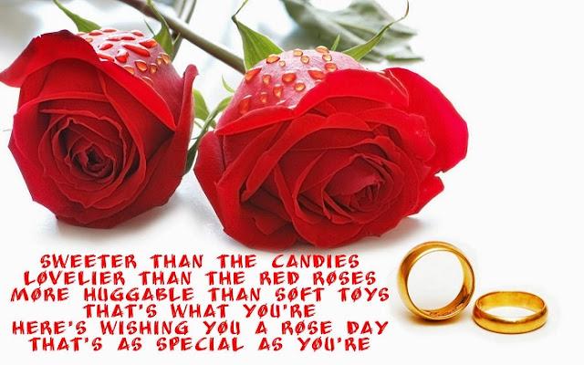 Happy Rose Day Shayari, rose day hindi shayari images