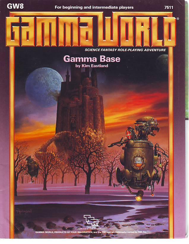 Quag Keep: Gamma World: GW8 - Gamma Base