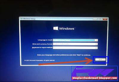 mungkin itu yaitu mulut pertama kali dikala windows sedang mengalami problem yang ben Cara Install ulang Windows 10 Pro di Laptop Dengan Flashdisk