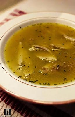 Supă simplă de pui
