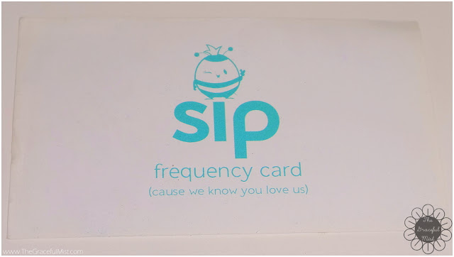 Sip Philippines - Frequency Card (http://www.thegracefulmist.com/)