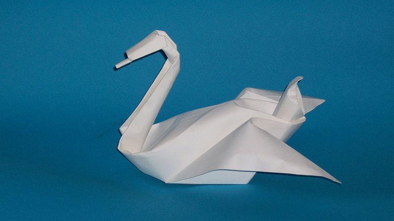 How To Fold An Origami Napkin Swan