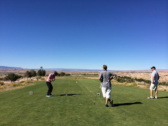 Towa Golfclub. Buffalo Thunder Casino, Santa Fe NM