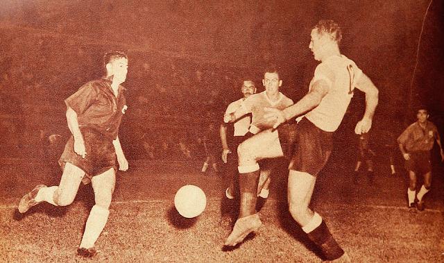 Chile y Uruguay en Campeonato Sudamericano de 1953