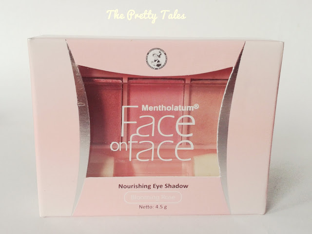 face on face nourishing eyeshadow natural glow blooming rose review