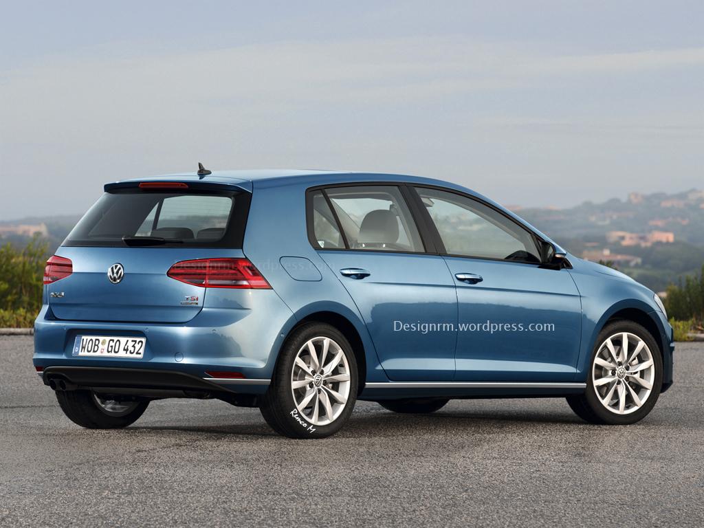 VW Golf Facelift Could Debut At Geneva Before R420 Variant