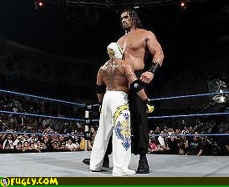 World Raseling: John Cena vs The Great Khali