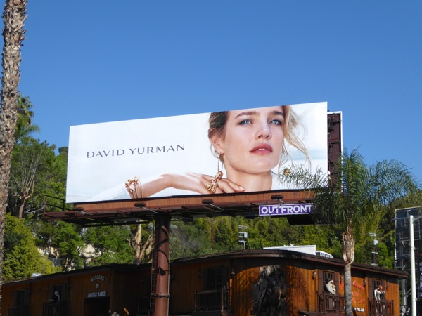 David Yurman jewelry Holidays 2016 billboard