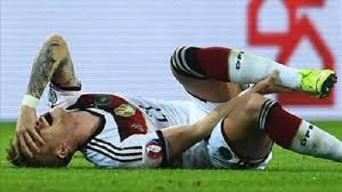 Chấn thương ở mắt cá chân đã khiến cho Reus bỏ lỡ cơ hội tham gia World Cup 2014