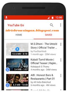 Simpan Video Youtube GO