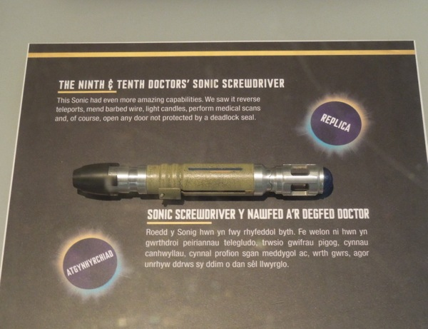Ninth Tenth Doctor Who Sonic Screwdriver