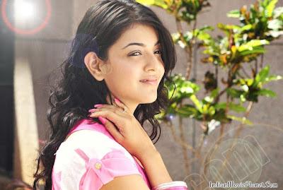 Kajal agarwal latest pink dress images wallpapers