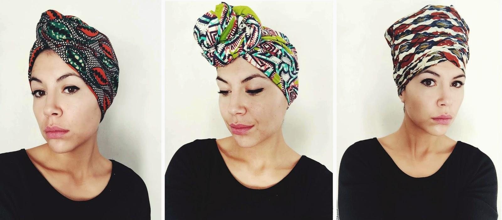 tutoriel 3 techniques de nouage du foulard pagne elonah blog mode et lifestyle. Black Bedroom Furniture Sets. Home Design Ideas