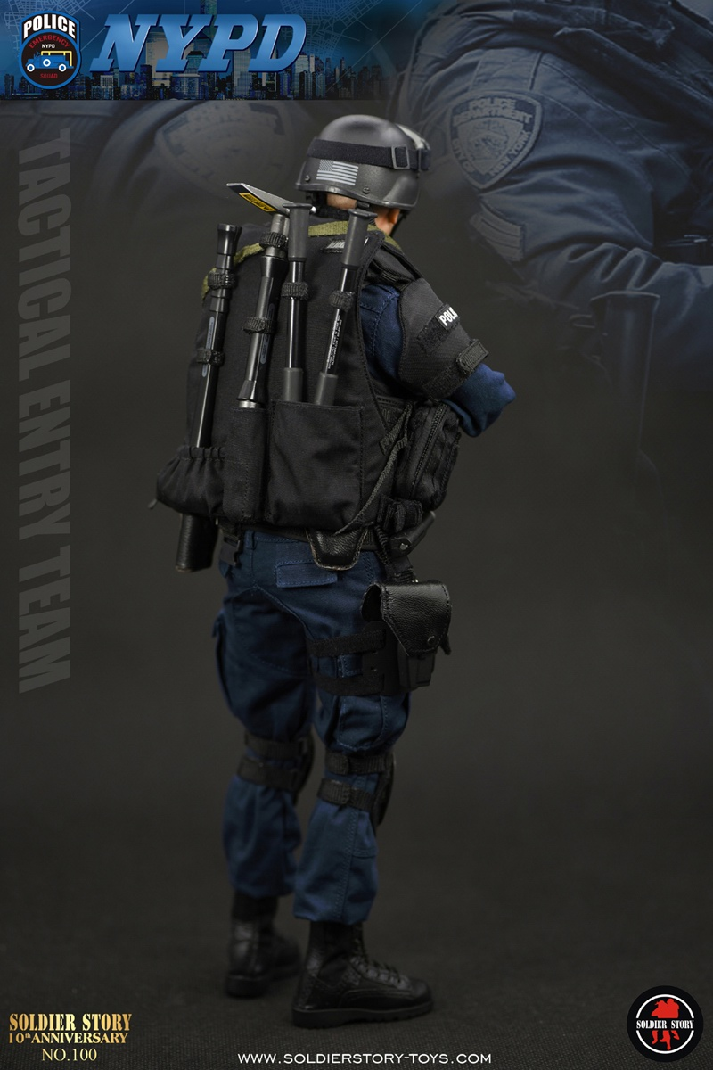 Toyhaven Soldier Story 1 6th Scale Nypd Esu Tactical