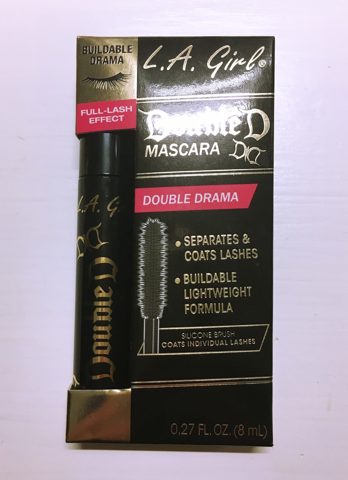 301a44001a2 Suzy Q-tip: Review: L.A. Girl Double Drama Mascara