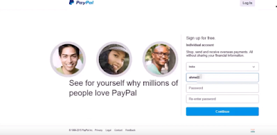 How To Create PayPal Account - 7 Easy Steps With Picture