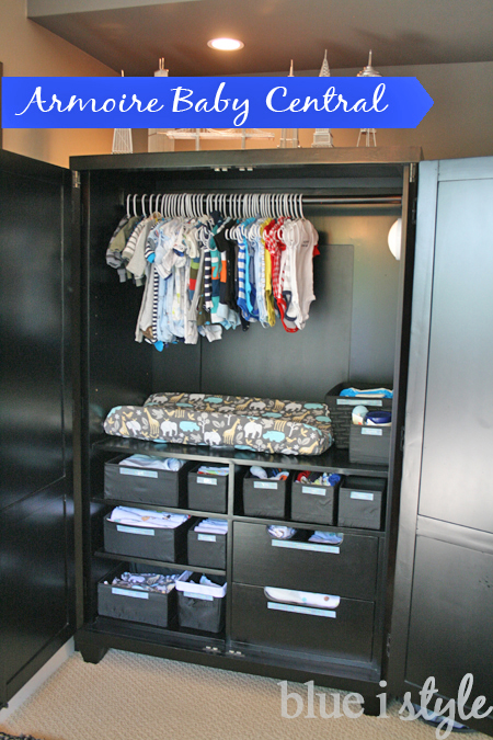 Armoire Baby Changing Station And Closet