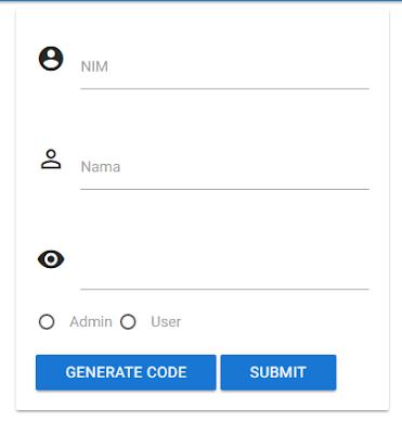 generate user akun