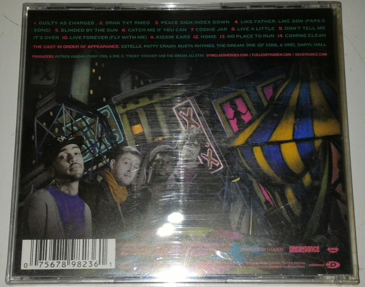 Cd Gym Class Heroes The Quilt Gudang Musik Shop