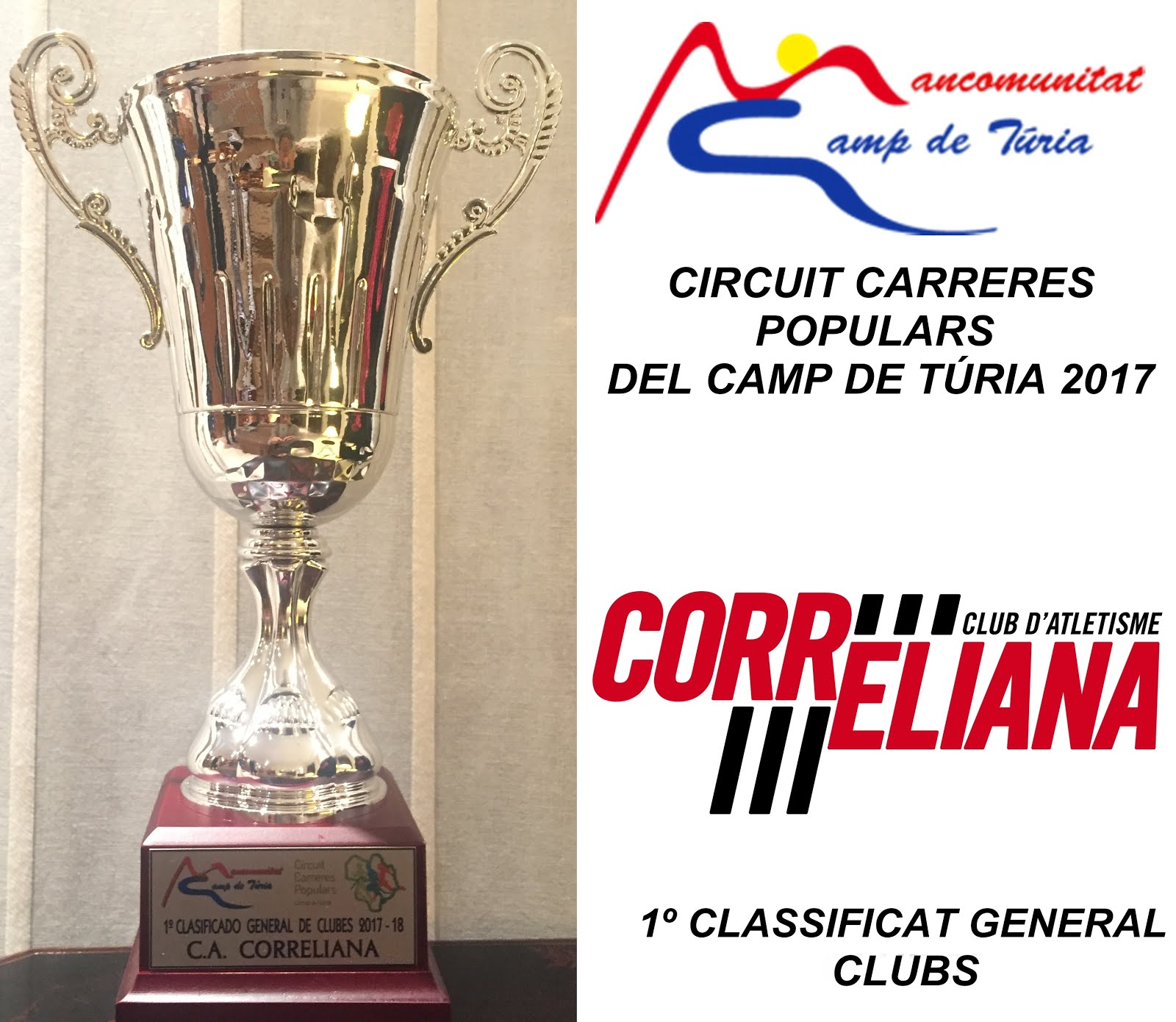 CLUB CAMPIÓ CIRCUIT CAMP DE TÚRIA 2017