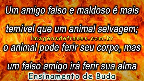 frases de Buda sobre amigo falso e maldoso