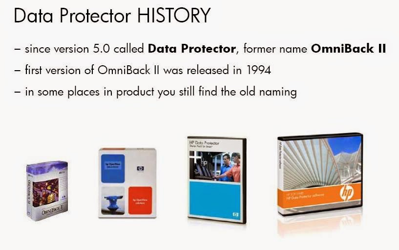 HP Data Protector Trainings and Consultation : Data