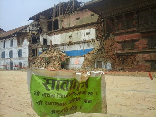 kathmandu earthquake damage
