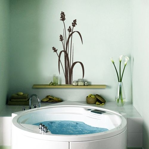 Pengen tahu dekorasi wall decals stickers untuk kamar mandi ini nich contohnya