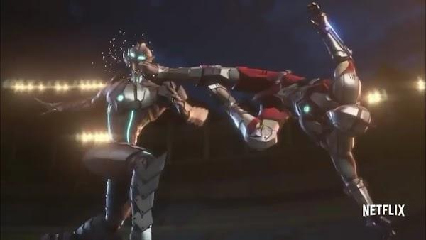 Netflix Rilis Cuplikan Shinjiro Berubah Menjadi Ultraman