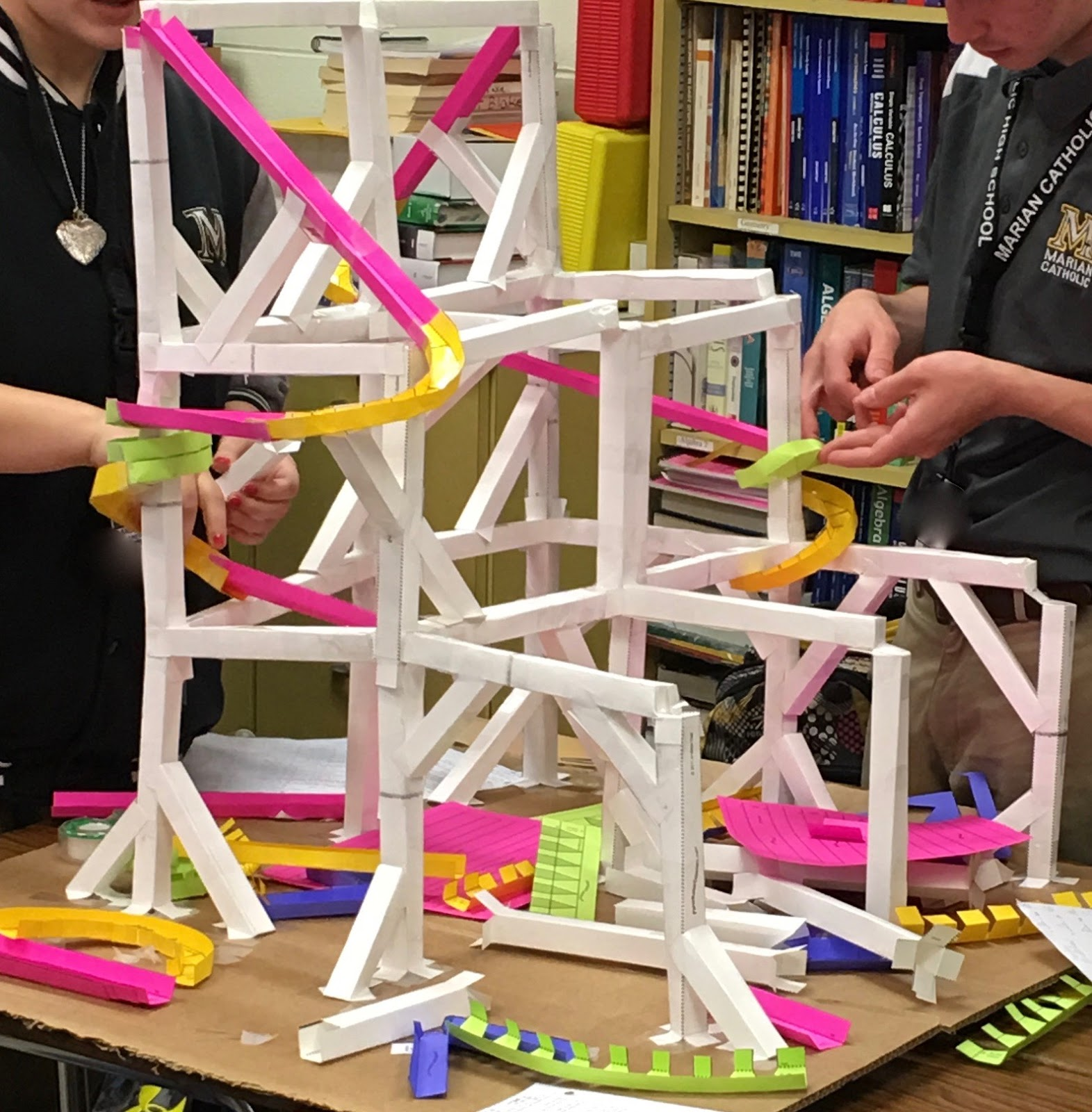Teaching High School Math Geometry Roller Coaster Project