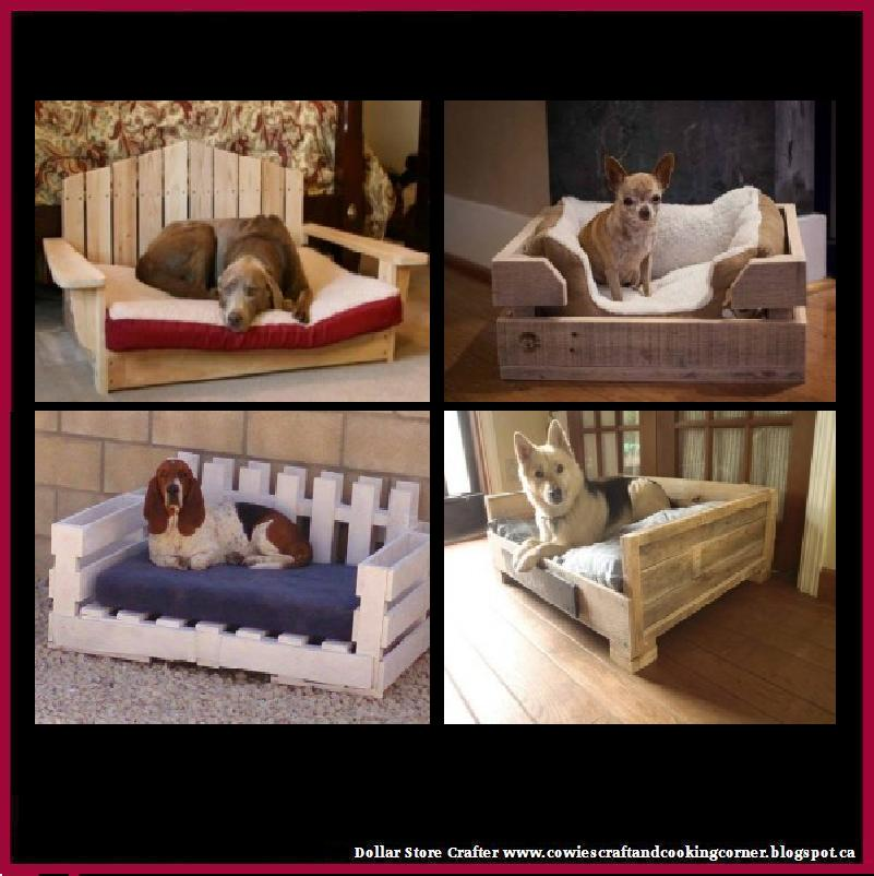 Dollar Store Crafter DIY Pallet Dog Beds Video Instructions
