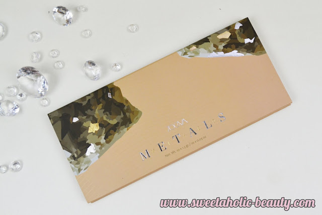Zoeva Cosmetics Mixed Metals Eyeshadow Palette Review & Swatches - Sweetaholic Beauty