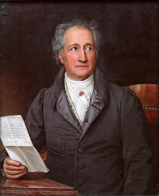 Retrato de Goethe por Joseph Karl Stieler