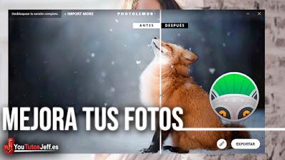 Mejora tus Fotos con este Potente Programa que usa la Inteligencia Artificial - Windows y Mac | Descargar Photolemur Gratis