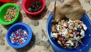 curious chef ice cream set sundae