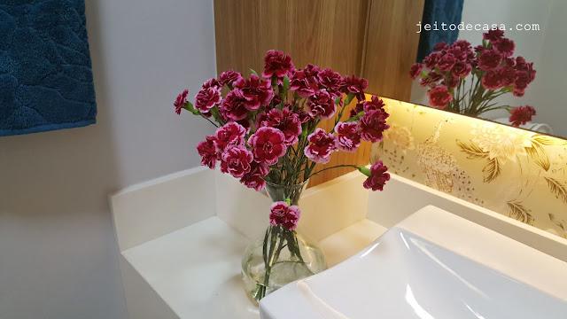 flores-decoração-lavabo