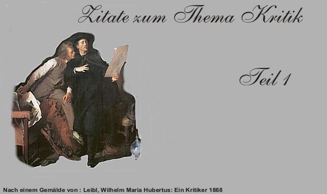 W.M.Leibl-Ein Kritiker